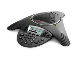 Polycom 2200-15600-001 SoundStation IP 6000 Conference Corded VoIP Phone (PoE)