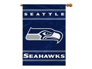 Fremont Die Inc Seattle Seahawks 2-Sided House Banner House Banner