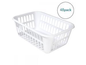 Sterilite Storage Basket Wht 2194-2057