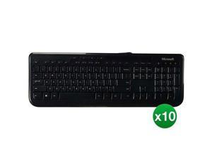 Microsoft Wired Keyboard 600 (10-Pack) Keyboard