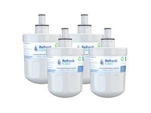 Replacement for Samsung DA29-00003G Aqua-Pure Plus DA29-00003B HAFCU1 Refrigerator Water Filter (4 Pack)