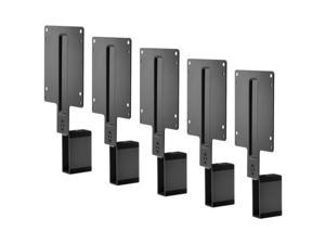 HP B300 - Mounting kit (mount bracket) for LCD display / thin client (5-Pack) PC Mounting Bracket