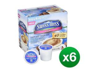 Swiss Miss Sensible Sweets Light Hot Cocoa Keurig Single-Serve K-Cup Pods, 96ct