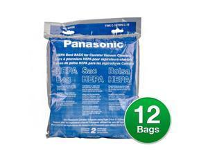 Original Type C-19 Vacuum Bag for Panasonic MC-V295H (6 Pack)