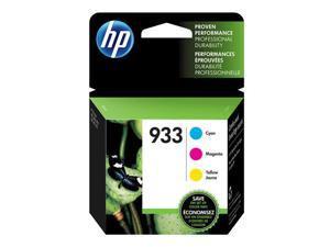HP 933 3-pack Cyan/Magenta/Yellow Original Ink Cartridges (N9H56FN)