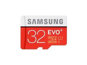 SAMSUNG EVO Plus 32GB microSDHC Memory Card w/ Adapter Model MB-MC32DA/AM