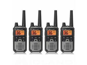 Midland X-Talker T290VP4 - Black (4 Radios) T290VP4 X-Talker Radio-Black