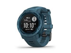 Garmin Instinct Rugged Outdoor GPS Watch (010-02064-04) - Lakeside Blue