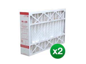 Replacement Air Filter For Honeywell AC FC100A1029 MERV 11 - 16x25x4 (2 Pack)