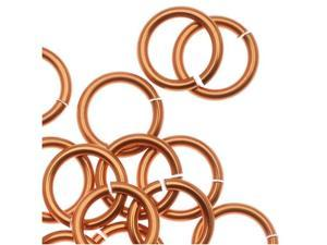 Chain Maille Jump Rings Copper 18 Gauge/Id 5.95mm 100Pc