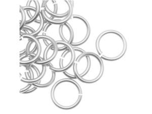 Chain Maille Jump Rings Silver Plated 20G/Id 4.37mm X70