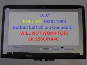 """HP Spectre x360 13T 13-4000 13.3"""" FHD LCD LED Touch Screen Digitizer 801495-001"""