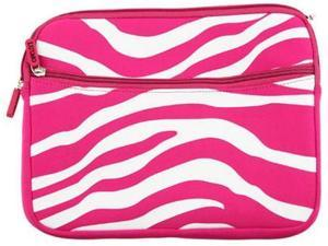DreamWireless LT-EPU10-2HHPWTZ Tablet & Laptop Exotic Pouch Universal 10.2 Inch Horizontal Hot Pink & White Zebra