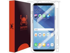 Skinomi Full Body Skin Protector Compatible with iPhone 8 Plus Screen Protector + Back Cover TechSkin Full Coverage Clear HD Film
