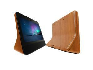 Facebook Portal Screen Protector + Light Wood Full Body (10.1), Skinomi TechSkin Light Wood Film for Facebook Portal with Anti-Bubble Clear Film Screen