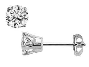 Sight Holder Diamonds 25ISI2EA 1/4 Cttw. Genuine SI Diamond Stud Earrings