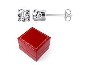 Sight Holder Diamonds 3254 1/10 CTW Diamond Sterling Silver Stud Earrings