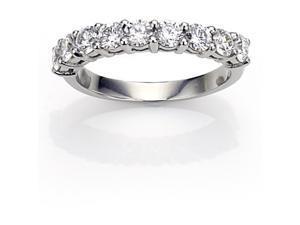 0.50 CTW 9-Stone Diamond Ring Set In 14K White Gold
