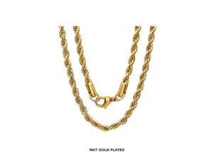 d775a1b61 Unisex Rope 18KT Yellow Gold ...