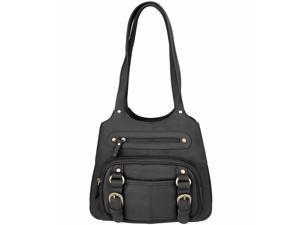 Womens Concealed Carry Purse Genuine Leather CCW Gun Handbag Shoulder Bag Tote