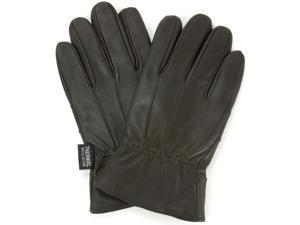 Alpine Swiss Men's Touchscreen Gloves Genuine Leather Texting Winter Thermal Lined (Brown) – XX Large