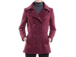 70bc3ed321d Alpine Swiss Emma Womens Peacoat Jacket Wool Blazer Double Breasted Overcoat