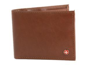 64cceef18fb5 Alpine Swiss Mens Wallet Real Leather Bifold Trifold ...