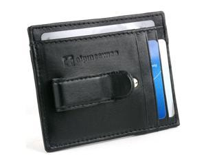 57a8aa48579667 Alpine Swiss Mens Leather Wallet Money Clip Bifold ...