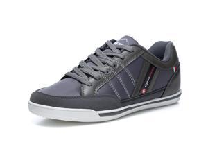 b3773f0bc72bd6 Alpine Swiss Stefan Mens Retro Fashion Sneakers Tennis ...