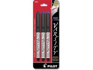 Pilot Fountain Pen Liquid Ink Disposable Medium 3/PK AST 90022