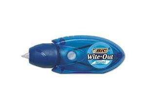 """Wite-Out Mini Twist Correction Tape, Non-Refillable, 1/5"""" x 314"""", 2/Pack WOMTP21"""