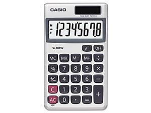 SL-300SV Handheld Calculator, 8-Digit LCD - SL300SV