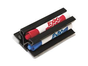 Magnetic Clip Eraser with Markers, Chisel, Assorted 3 Markers/Set - SAN81503