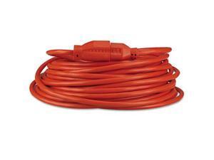 Indoor/Outdoor Extension Cord, 50ft, Orange 72250