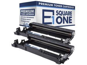 eSquareOne Compatible Drum Unit Replacement for Brother DR420 (Black, 2-Pack)