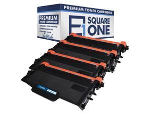 eSquareOne Compatible High Yield Toner Cartridge Replacement for Brother TN850 TN820 (Black, 4-Pack)