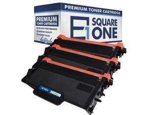 eSquareOne Compatible High Yield Toner Cartridge Replacement for Brother TN850 TN820 (Black, 3-Pack)