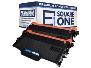 eSquareOne Compatible High Yield Toner Cartridge Replacement for Brother TN850 TN820 (Black, 2-Pack)