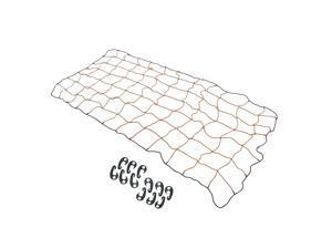 Automotive Cargo Stretch Web Elastic Tie Down Net 4 x 6