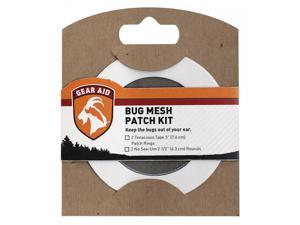 Gear Aid Bug Mesh Patch Repair Kit for Hiking Camping Outdoor Equipment - Black