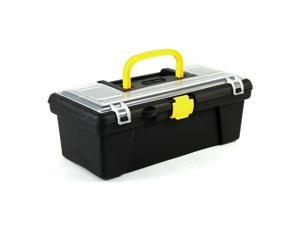 Universal Home Dual Compartment Hobby Craft Tool Box Portable Workshop Storage