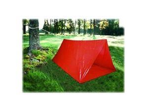 Emergency Outdoor Essential Survival Pop Tent Canopy for Camping Hiking - Red