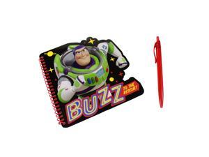 Toy Story 4 Shaped Spiral Noteboook with Red Pen - Buzz Lightyear