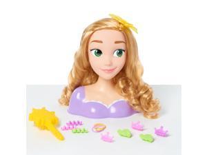 Disney Princess Tangled Rapunzel 14 Piece Styling Head Pretend Play Toy