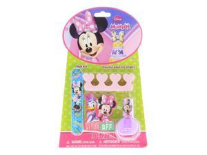 Minnie Mouse BFF Complete Manicure Pediure Girls Fashion Nail Kit - 4pc