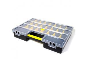 Universal Tool Hobby Craft Storage Organizer 26 Sections Adjustable Tool Box