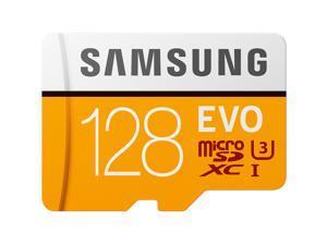 SAMSUNG EVO 128GB microSDXC Flash Card + Adapter Model MB-MP128HA/AM