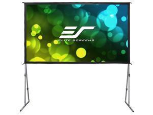 "Elite Screens Yard Master Plus OMS100H2PLUS Manual Projection Screen - 100"" - 16:9 - Tripod"