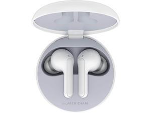 LG TONE Free FN4 Wireless Earbuds w/ Meridian Audio - White