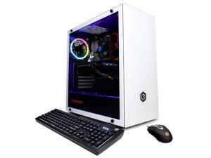 CyberpowerPC Gaming Desktop Gamer Xtreme GXi11260CPGV3 Intel Core i5 10th Gen 10400F (2.90 GHz) 8 GB DDR4 2 TB HDD 240 GB SSD NVIDIA GeForce GTX 1660 SUPER 6 GB GDDR6 Windows 10 Home 64-bit
